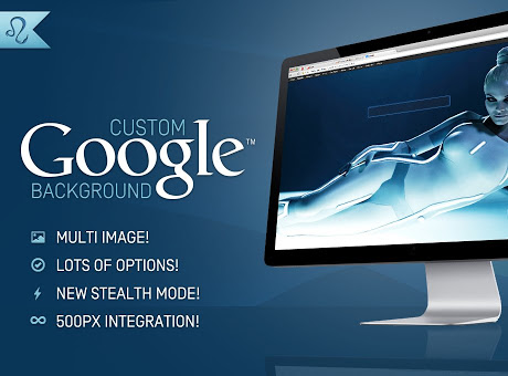 Custom Google Background